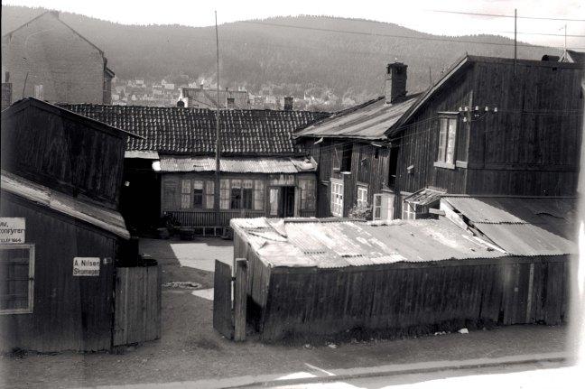 Boliger for fattige i Drammen på 1930-tallet